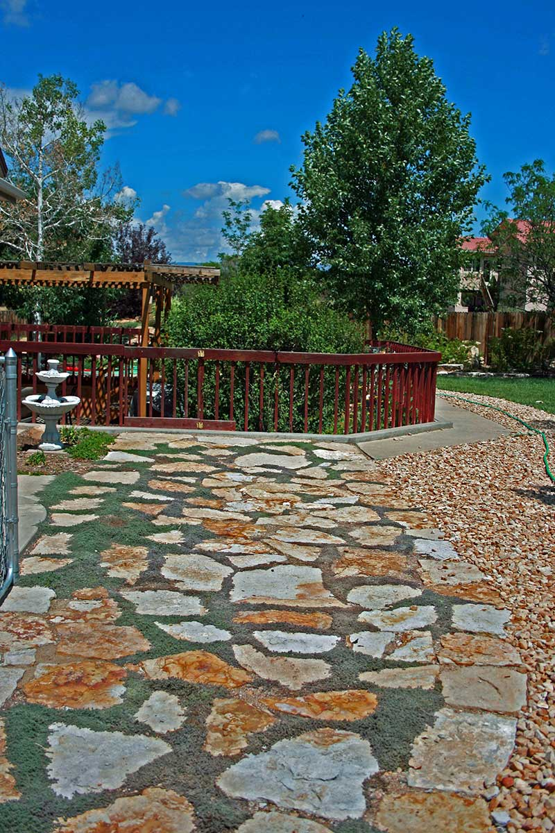 Description Siloam Walkway Stone And Patio