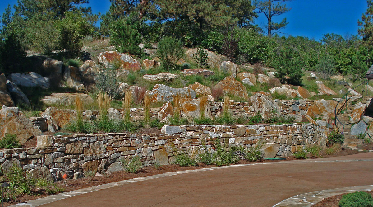 Residence: Castle Pines, CO. - Siloam Stone, Inc.