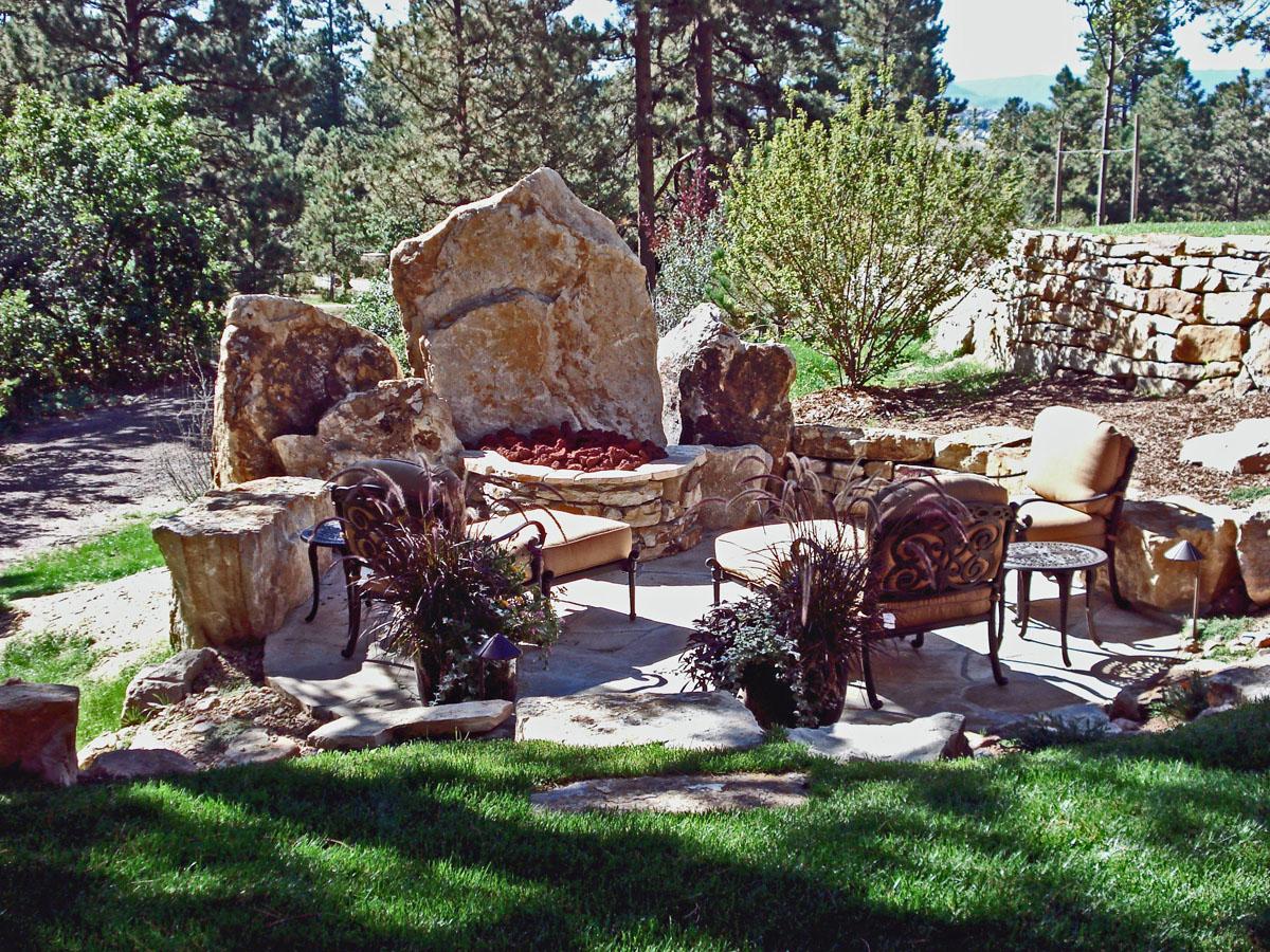Classic Gardens And Landscape Siloam stone accents monuments colorado denver design installation classic gardens colorado springs co description siloam cinnamon workwithnaturefo