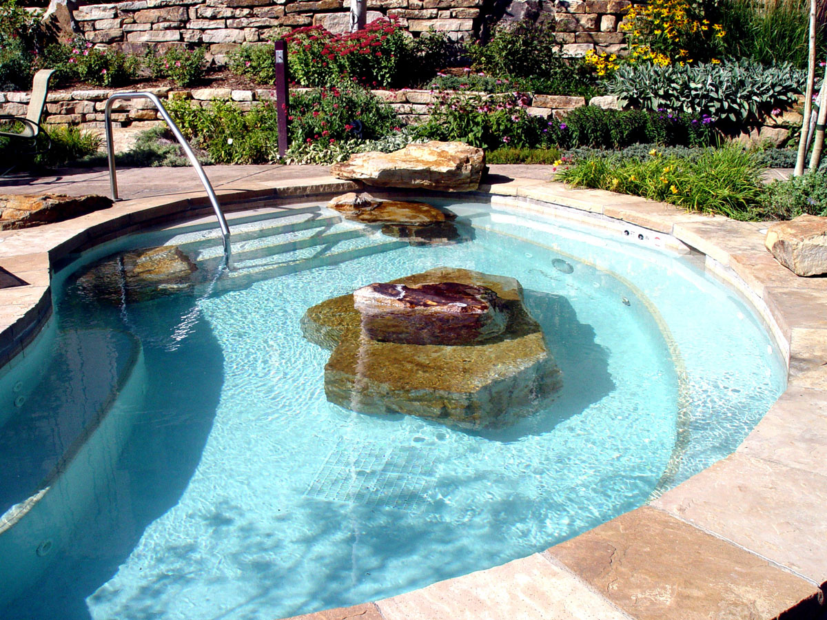 Boulders Around Pool Amusing Siloam Stone  Accents  Monuments  Colorado  Denver
