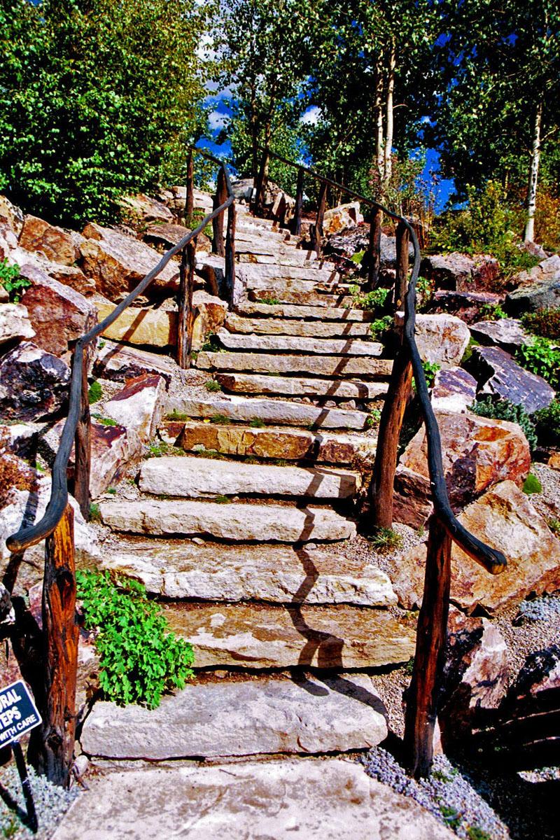 Siloam Stone Stairs Entries Colorado Quarry Denver