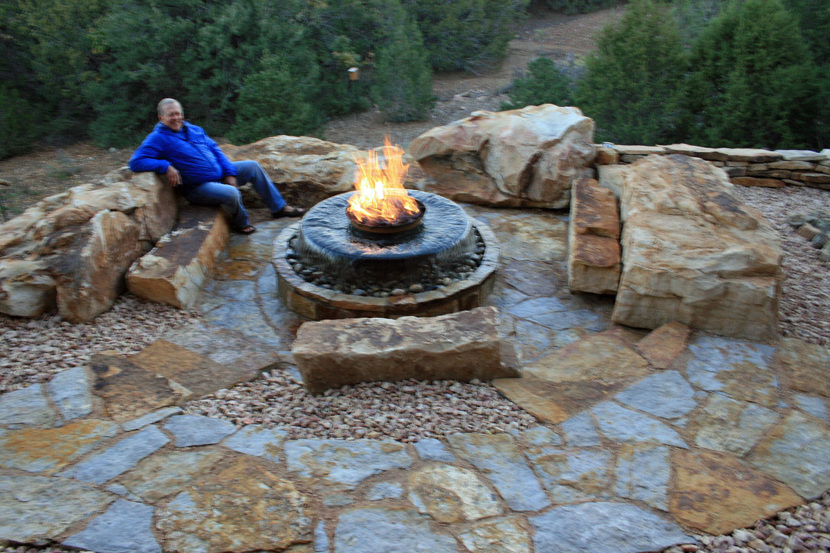 Natural Stone Walkways Patios Colorado Denver